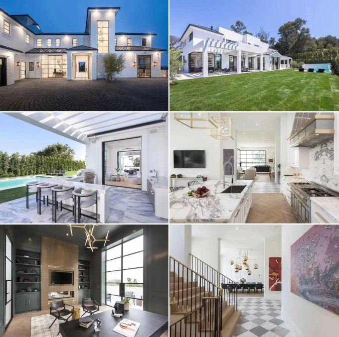 LeBron James House in Brentwood