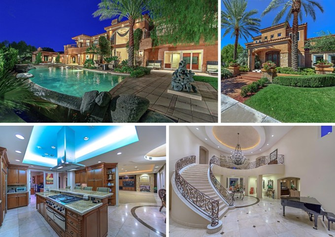 Mike Tyson House in Las Vegas