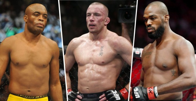 Best MMA Fighters Of All-Time In UFC History