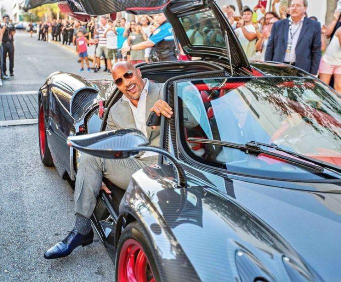 Dwayne Johnson Cars Collection