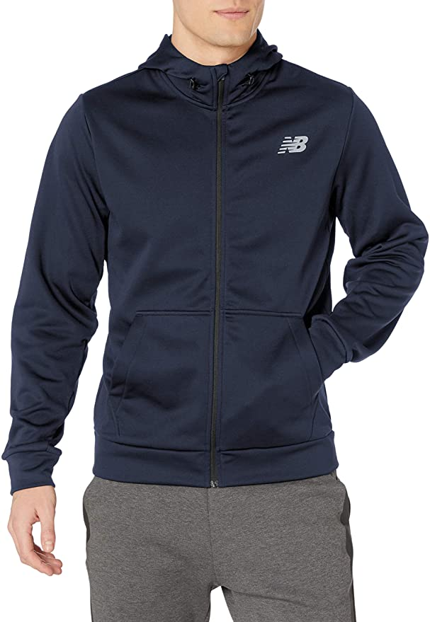 New Balance Mens Nb Core Fleece FZ Hoodie