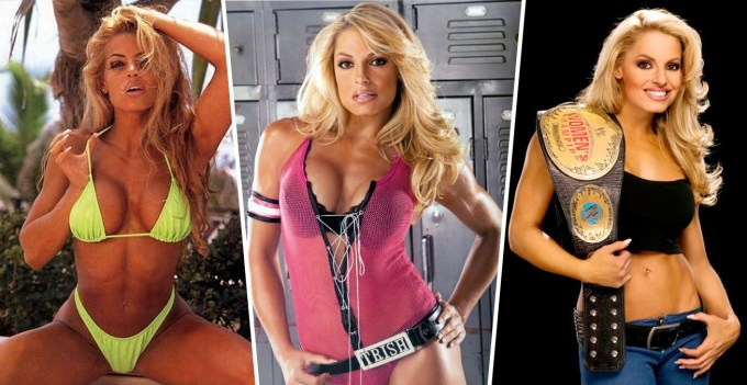 Beautiful Female Wrestlers - Trish Stratus