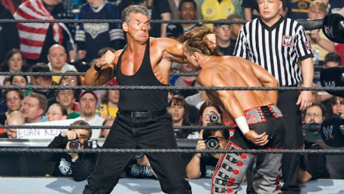 Mr. McMahon Vs. Shawn Michaels - WrestleMania 22