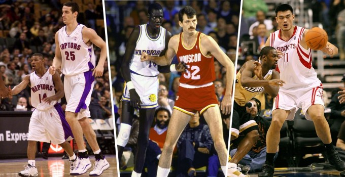 Tallest NBA Players Of All Time & Shortest