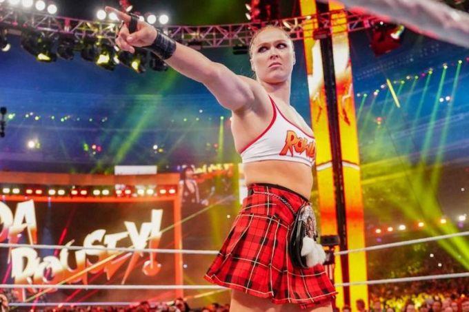 Ronda Rousey WWE Career