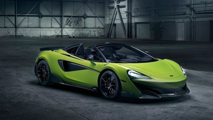 McLaren 600LT Spider Convertible Car