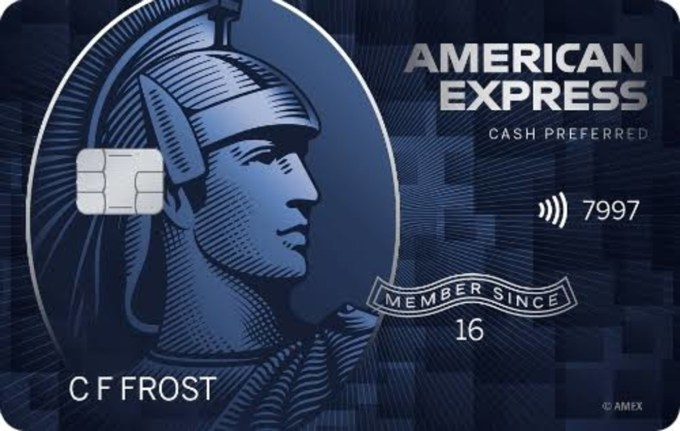 The American Express Blue Cash Preferred