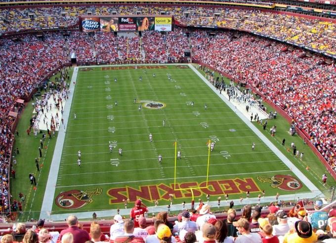 Biggest NFL Stadium – FedEx Field
