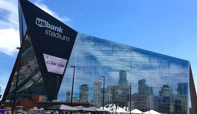 NFL Stadiums by Construction Cost – US Bank Stadium
