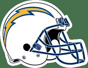 Los Angeles Chargers Logo/Helmet Image