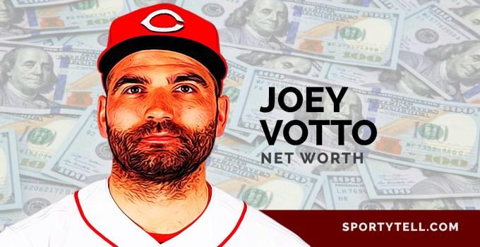 Joey Votto Net Worth, Salary, Contract, Charity