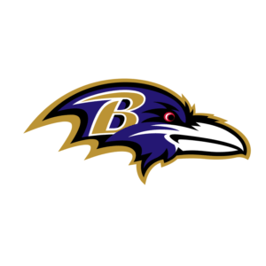 Baltimore Ravens Team Transparent Logo