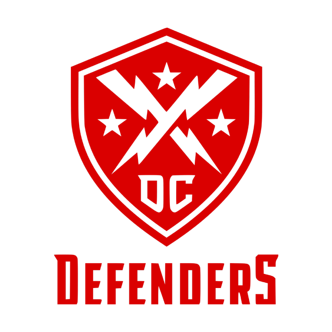 XFL DC Defenders Transparent Logo