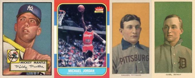 Frequently Counterfeited Sports Trading Cards