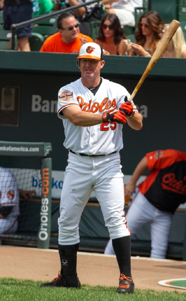 Thome with the Orioles in 2012