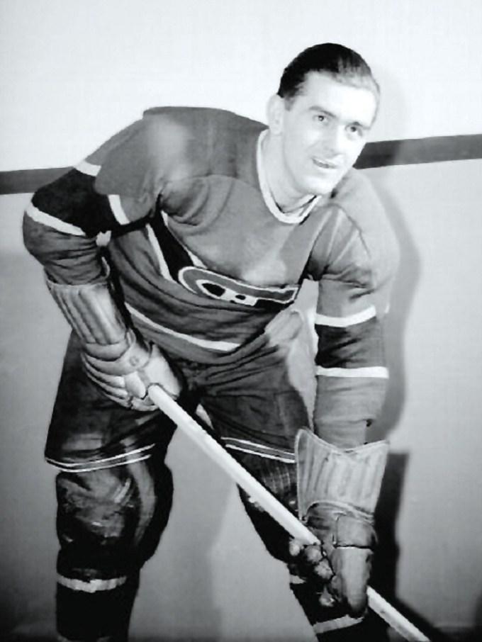 Maurice Richard in 1945