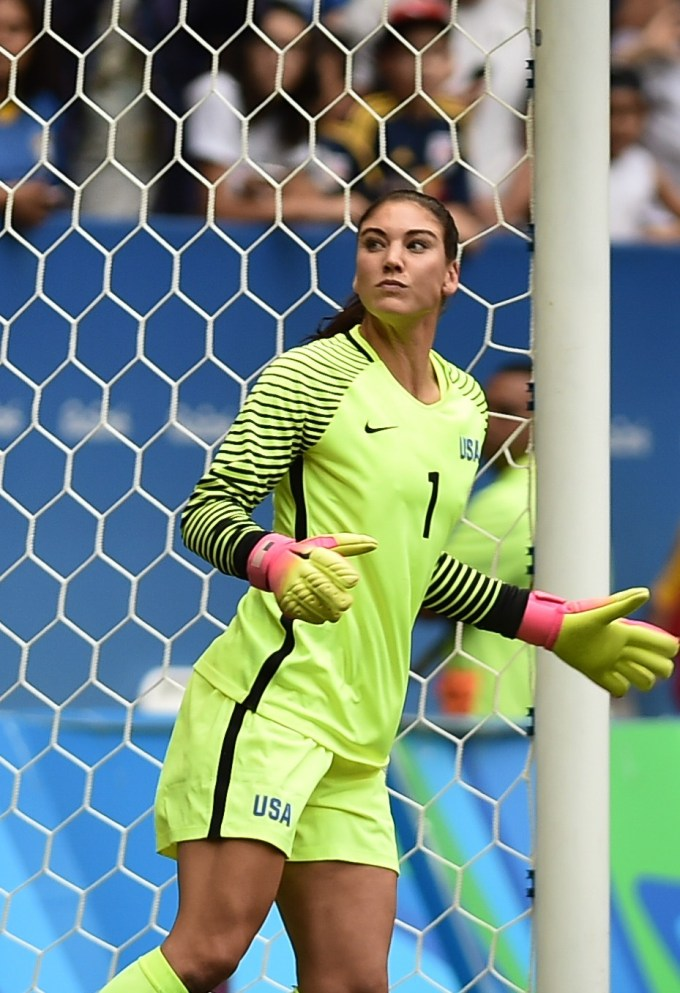 Hope Solo — Highest Paid Female Soccer Player