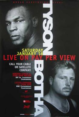 Tyson vs Botha