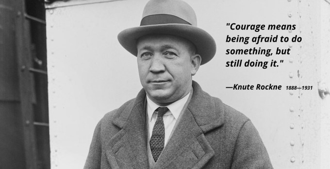 45 Famous Knute Rockne Quotes To Inspire You