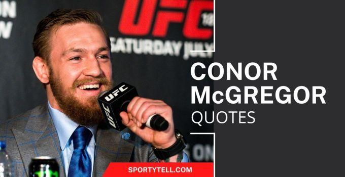Best Conor McGregor Quotes