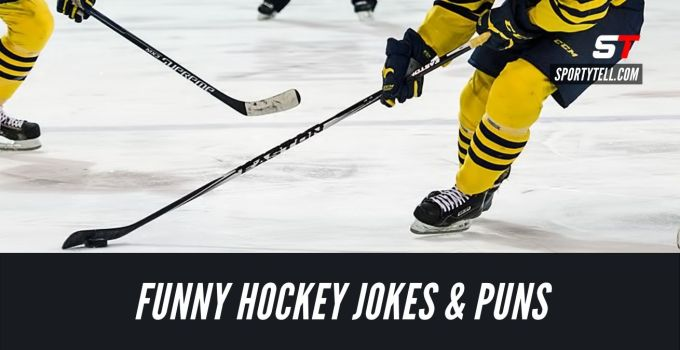 Hilariously Funny Hockey Jokes & Puns