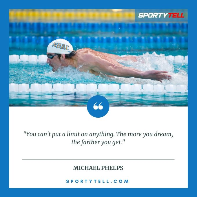 Inspirational & Motivational Quotes By Michael Phelps