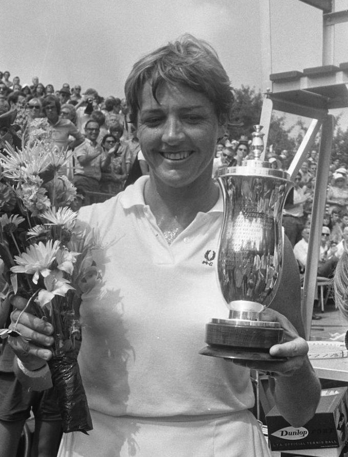 Margaret Court Grand Slams Won — 11