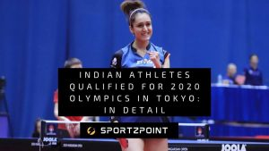 Indian Athletes Qualified for 2020 Olympics- Sportz Point