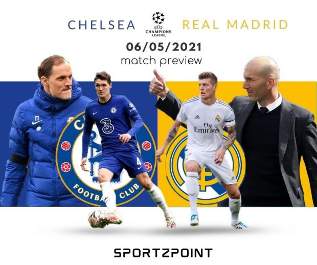 UCL Fantasy League: Chelsea vs Real Madrid Preview, Dream11 Team Prediction- SportzPoint