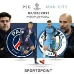 UCL Fantasy League: Man City vs PSG Preview, Dream11 Team Prediction