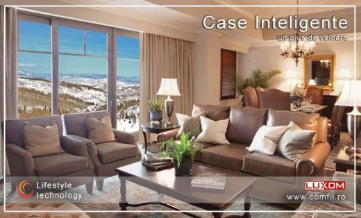Control clasic vs control inteligent al casei: sistemul Luxom