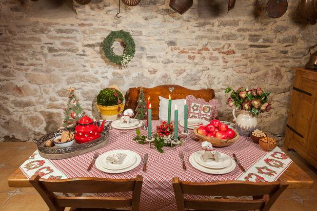 Arta decorarii mesei de Craciun - recomandari Chic Ville