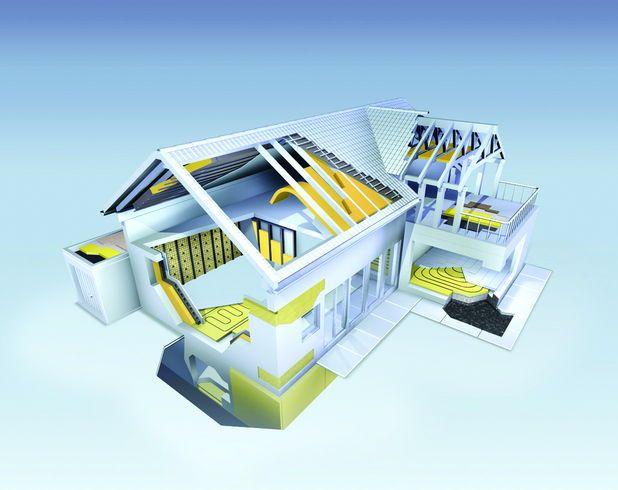 O casa izolata cu produse adecvate se poate incalzi iarna doar cu un calorifer