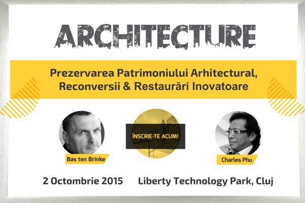 Peste 300 de arhitecți vor participa în această vineri la Architecture Conference&Expo 2015