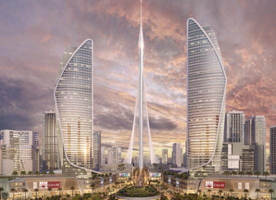 Noul cel mai înalt turn din lume este creat de Santiago Calatrava