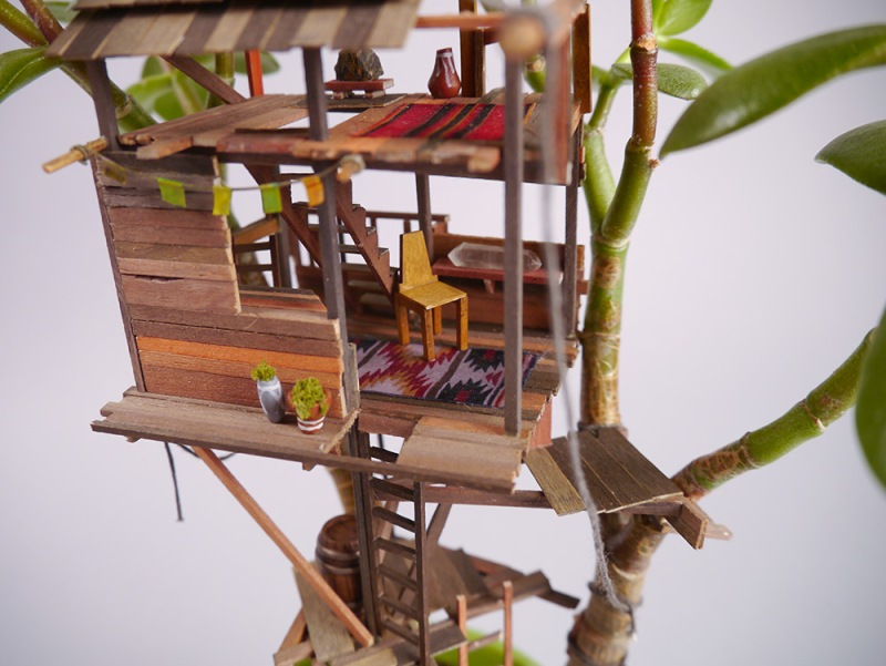 Căsuţa din copac, varianta miniaturală