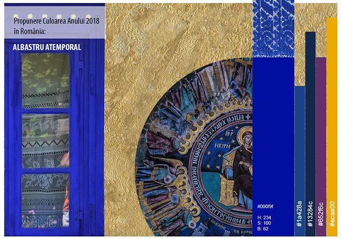 Albastru Atemporal - Culoarea Anului 2018 în România