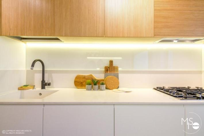 Miso Architects amenajare moderna apartament Bucuresti bucatarie 5