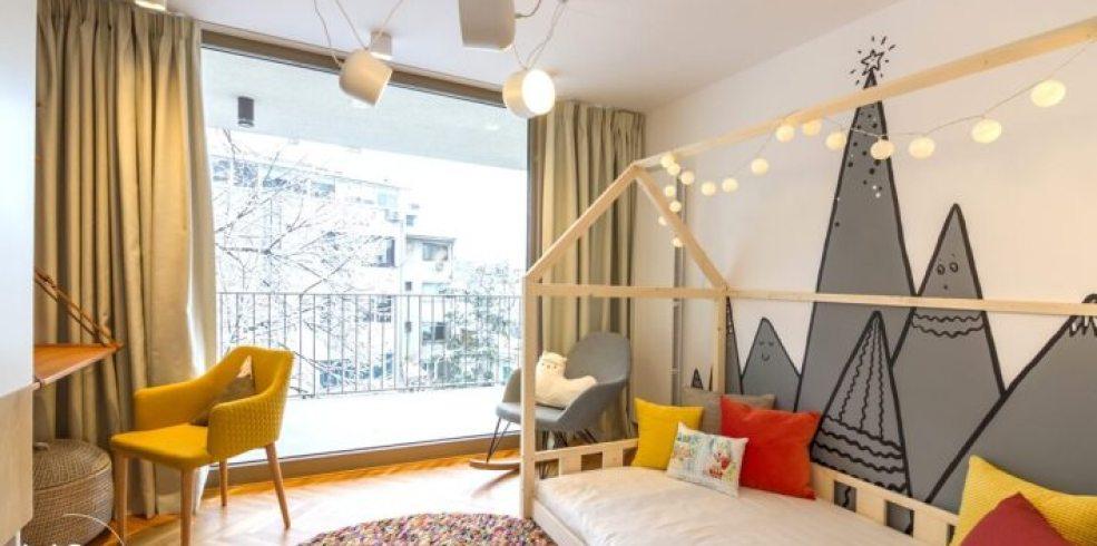 Travelers Home – un apartament amenajat pentru o familie dinamică