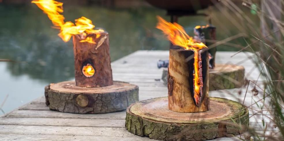 Focul suedez, sau cum poți face face rapid și sigur un foc de tabără oriunde ai fi