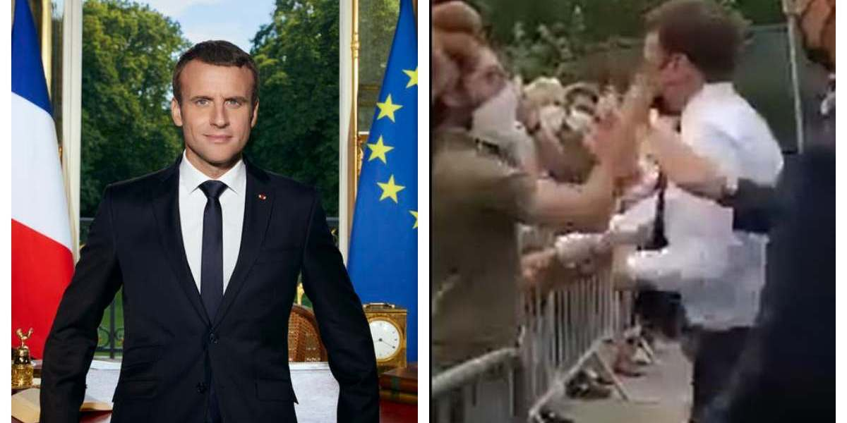 French-President-Macron-slapped-in-the-face-by-man-during-walkabout
