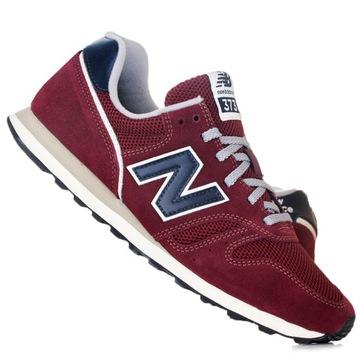 new balance nowe buty bordowe