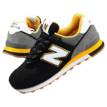 new balance nowe buty czarno żółte