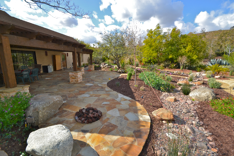 Choosing plants and materials to create low maintenance ... on Low Maintenance Backyard Design  id=47749
