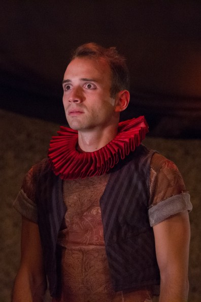 Stephen Russell Murray as a Tragedian. Photo by Teresa Wood.