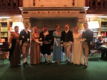 English Country Dance in DC at Folger Theatre Ladies' Night.