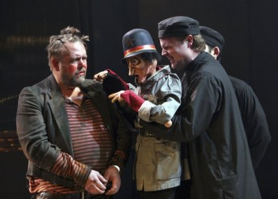 David Marks (Pompey), Todd Scofield (operating puppet Elbow), Measure for Measure, 2006.