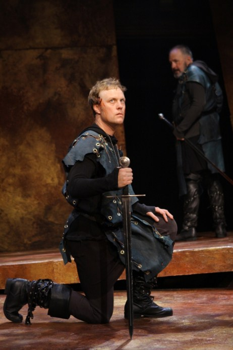 Tom Story as Prince Hal, 1 Henry IV, 2008. Photo: Carol Pratt.