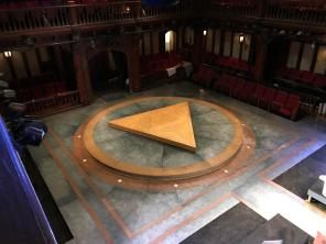 Antony and Cleopatra's stage. Photo: Charles Flye.