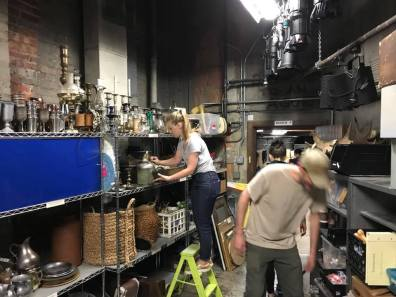Folger Clean out